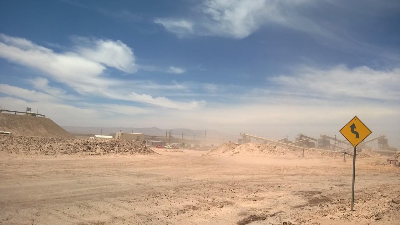 Kupfertagebau