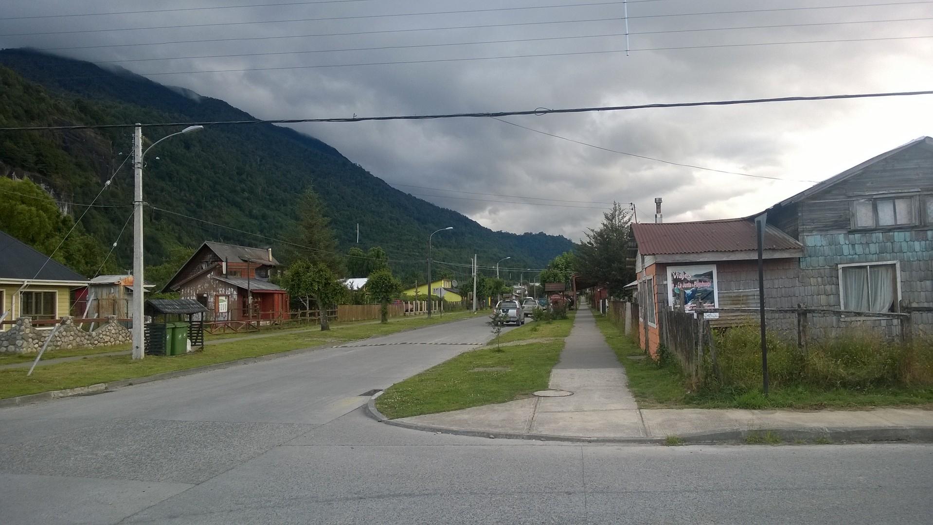 Mehr oder weniger das Stadtzentrum von Chaiten
