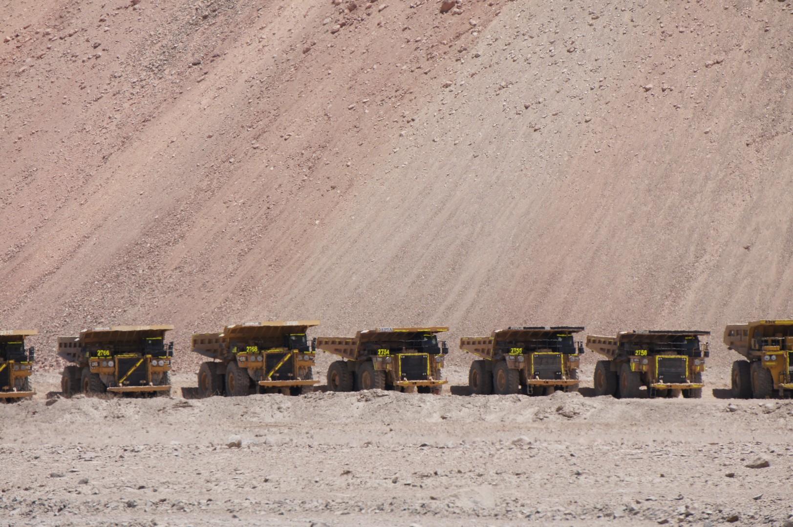 13. Januar - Atacama Wüste: Erkundungstour Nord