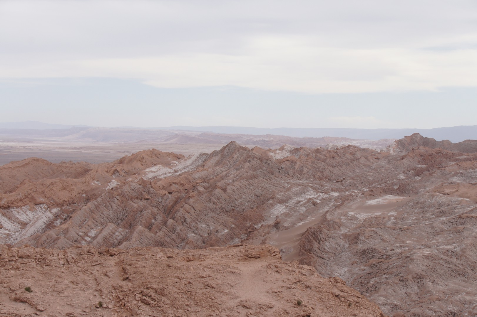 Überblick über Valle de la Luna