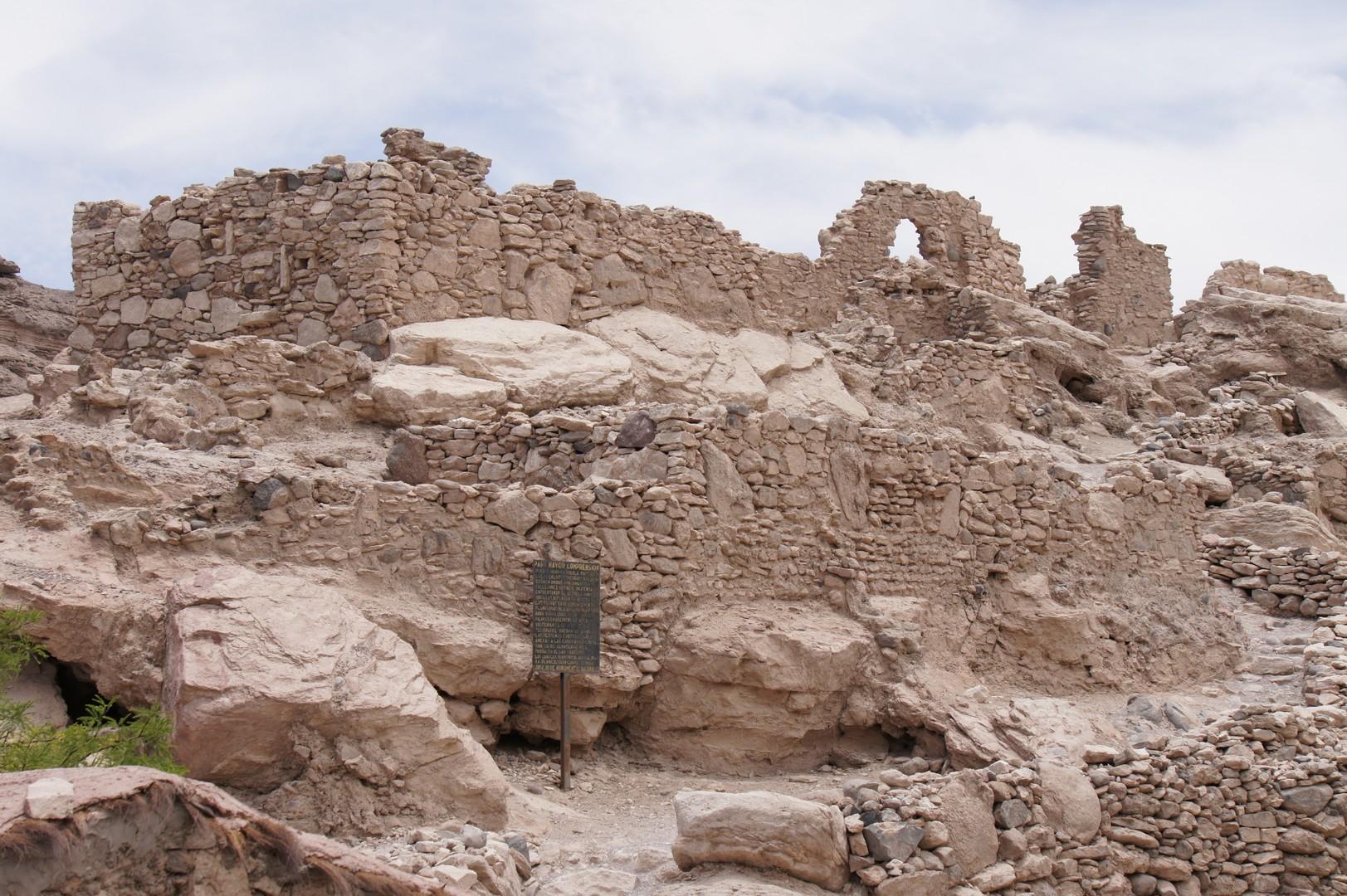 Die Ruinen der spanische Festung