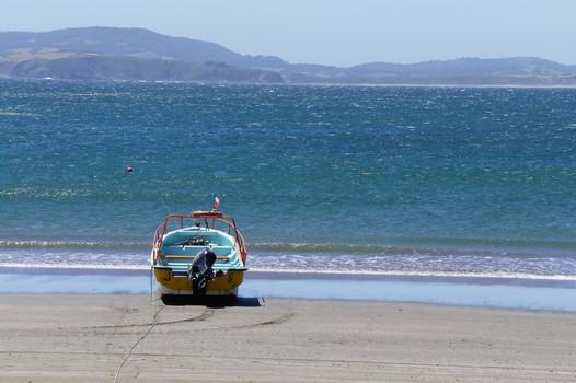 15. Januar: Suche nach der Fährreservierung und Besuch der Insel Chileo