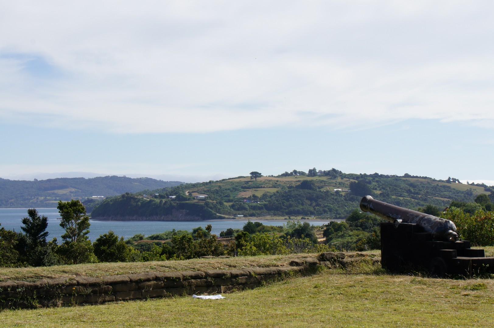 Kanone vom Fort