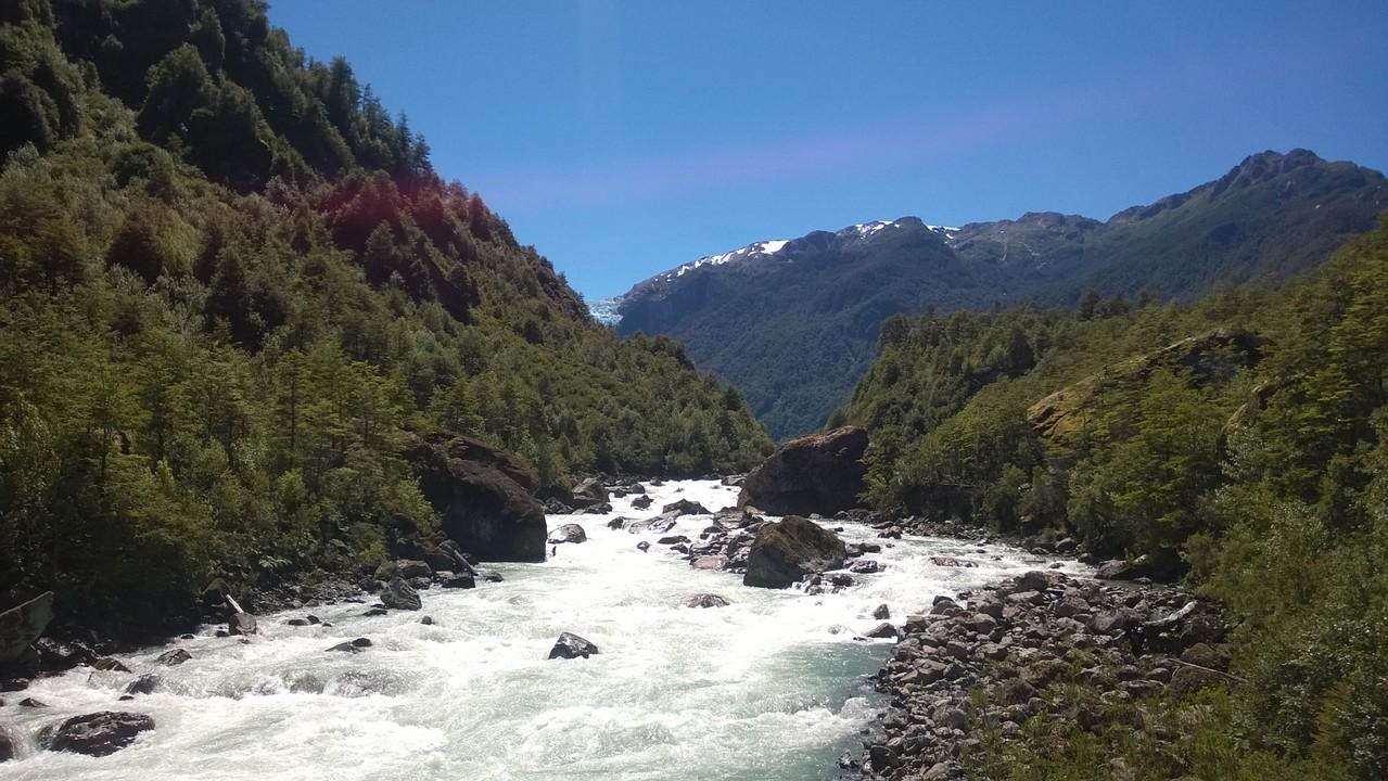 Weg zum Gletscher Aussichtspunkt