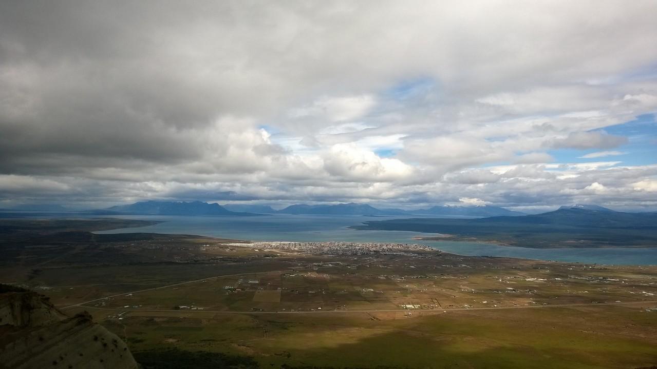 Blick über Puerto Natales