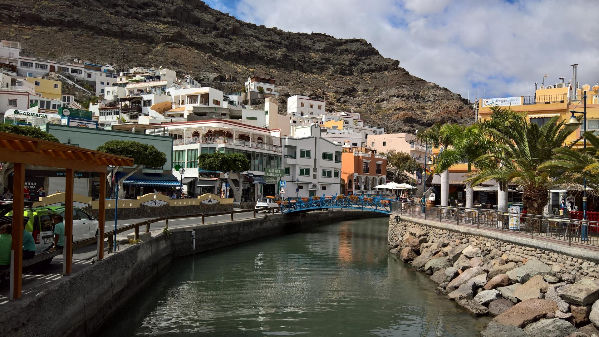 Puerto de Morgan - Blick in die Stadt